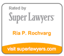 Super Lawyer, Maryland Attorney, Ria Rochvarg, Baltimore